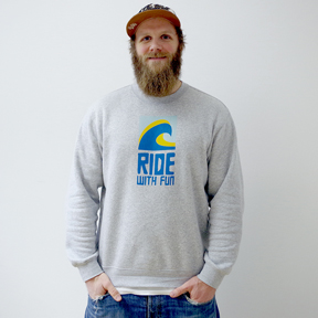 RIDE WITH FUN - Basic Sweater/Men