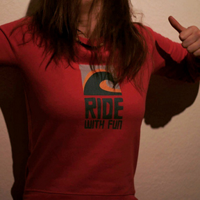 RIDE WITH FUN - Longsleeve/Women